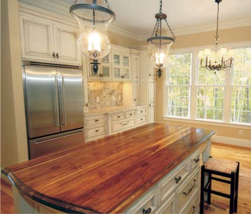 Timber Bench Tops