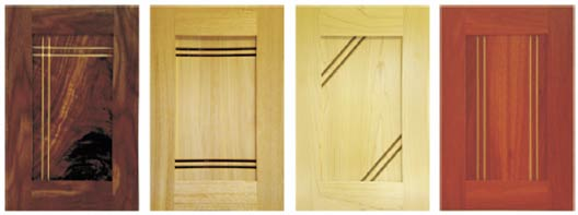 Solid Timber Doors - Manhattan, Kakadu, Montreal and Kimberley.