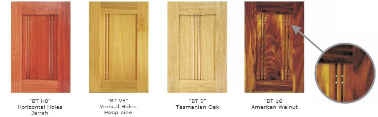 Solid Timber Doors - BT H8, BT V8, BT 9 & BT 16