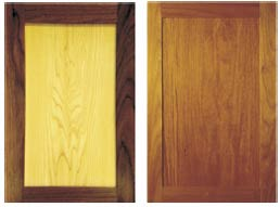 Solid Timber Doors - Chardonnay & Merlot